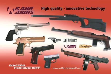 The complete range of Kahr Firearms Group