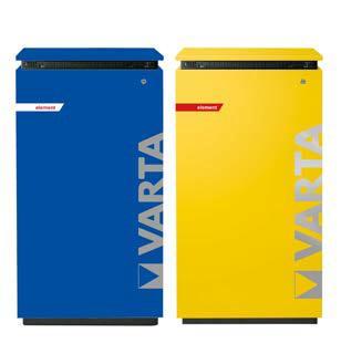 Der Energiespeicher VARTA element in den IKEA Farben blau und gelb – ab sofort ist die gelbe Variante in der Schweiz erhältlich (Quelle: VARTA Storage GmbH)
