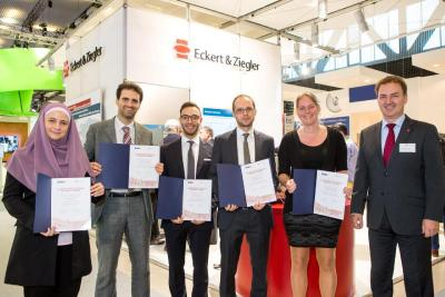 Eckert & Ziegler awards prizes to young nuclear medicine researchers