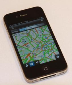 Mit INRIX bei hohem Verkehrsaufkommen ganz einfach durch London navigieren