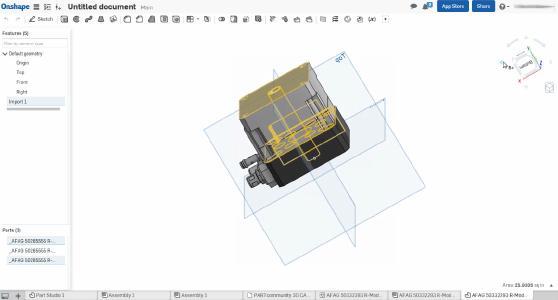 3D CAD models by CADENAS in Onshape