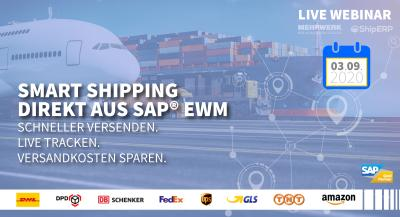 Live Webinar   Smart Shipping direkt aus SAP® EWM