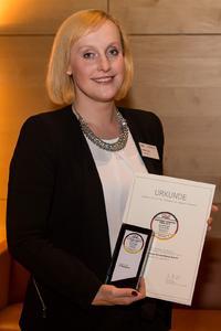 LG Electronics erhält Deutschen Fairness Preis Justine Figura  - PR Manager