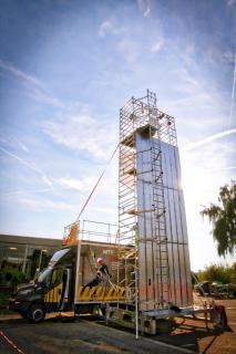 3M präsentiert erste mobile Trainingsanlage für Höhenarbeiten