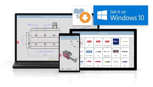 CADENAS continues pioneering role: First 3D CAD model app for Windows 10 is now available