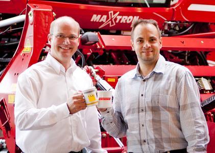 Dr. Michael Klindtworth und Johann Mayr