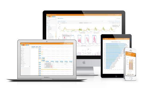 Cloud based analysis software - Gantner.webportal