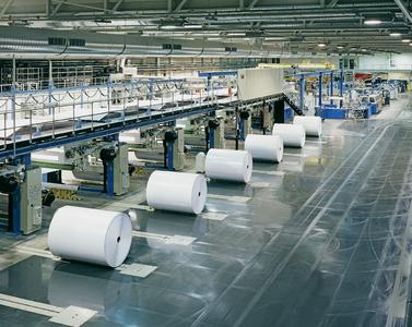 World-record-setting equipment - the 12-pocket cut-size line from E.C.H. Will and Pemco.