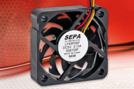 SEPA EUROPE Microlüfter mit neuartigen Lüfterflügeln
