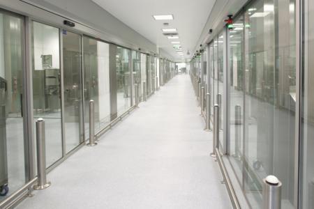 Development and Upscaling Center, Ennigerloh, interior view