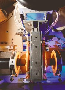 Infrarot-Wärme hilft partikelfrei Kunststoffrohre zu verschweißen, Copyright Heraeus Noblelight 2012