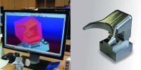 Komplexes Teilspektrum: Heinz & Feld setzt für die 5-Achs-Bearbeitung auf die COSCOM ProfiCAM 3D-Programmierung mit der full HPC-Technologie für das Adaptive Schruppen.