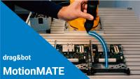 New wireless teach-in of industrial robots with the drag&bot MotionMATE