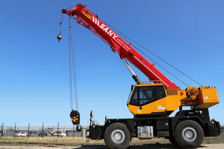 Product launch of new PALFINGER SANY Rough Terrain Crane Series