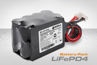 Safe LiFePO4 high-performance battery pack for demanding industrial and medical applications