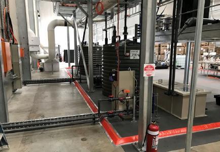 In der Produktionsstätte von First Graphene / Foto: First Graphene