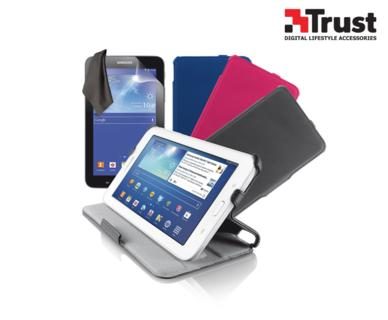 Trust Stile Folio Case und Screen Protector für Galaxy Tab3 Lite