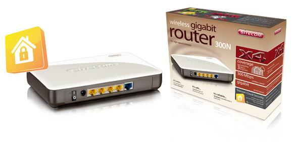 WLR-4000 Wireless Gigabit Router N300 UVP EUR 69,99