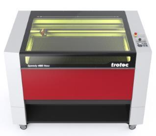 Speedy 400 flexx Lasergraviermaschine