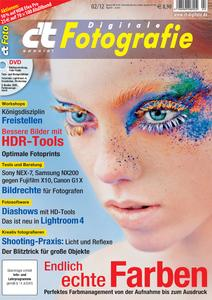 """Das Titelbild der """"c't Digitale Fotografie""""-Ausgabe 2/2012"""