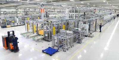 Valmet Automotive has started battery production in Salo