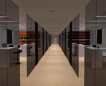 offenes Büro mit Lichtsteuerung (Quelle: DIAL)