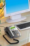 "ConnecTec VoIP USB-Telefon ""Comfort Style II"""