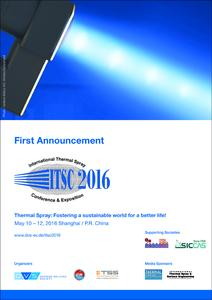ITSC First Announcement 2016