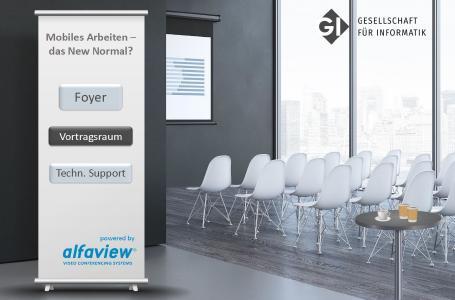 Virtuelle Paneldiskussion via alfaview®