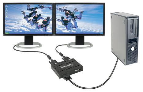Matrox DualHead2Go Digital Edition - setup desktop