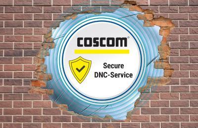 COSCOM DNC-Webserverdienst für eine abgesicherte Datenkommunikation in den Fertigungsbetrieben.