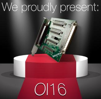 Product launch optocoupler card OI16 by vmcm, the DAQ expert