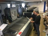 The formula for success for customers enjoying growth in small-format offset printing is specialization and equipment from Heidelberg