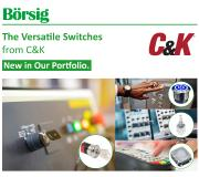 Börsig is the official distributor of C&K Switches