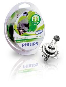 Philips EcoVision: Die weltweit umweltfreundlichste Pkw-Halogenlampe