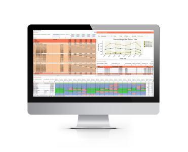 Im Sales Center in wayRTS können die Vertriebsmitarbeiter den Forecast direkt in wayRTS einpflegen (Bildquelle: valantic)