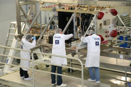 Galileo integration at OHB (© OHB System AG)