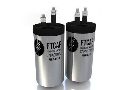Die Filmkondensatoren der Serie Energy Caps von FTCAP sind mit Terminals in unterschiedlichen Höhen erhältlich