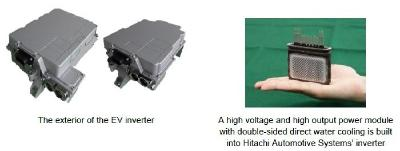 Hitachi Automotive Systems Starts Mass Production of High Voltage and High Output EV Inverter, the First in the World