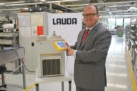 LAUDA CEO Dr. Gunther Wobser presents the new LAUDA PRO