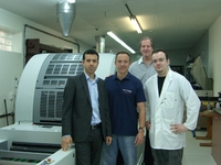 Happy about the new Genius 52UV for the South African card manufacturing Card Technology Services Ltd.