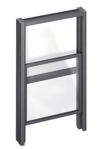 Mehrere 100 Schiebefenster fertigt Baier im Jahr. Senkrechte Schiebefenster erleichtern den Straßenverkauf z.B. bei Eisdielen oder Fast-Food-Ketten. Eine patentierte Absturzsicherung für die Schiebefenster verhindert Unfälle