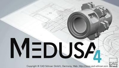 MEDUSA4 Personal free 2D 3D CAD 2