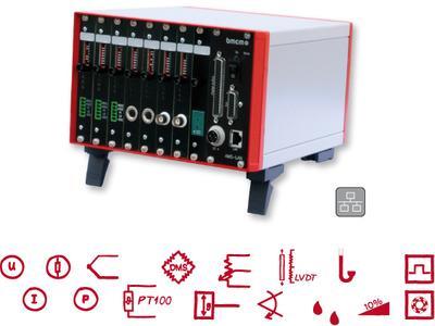 Mobiles LAN-Verstärkermesssystem AMS42-LAN16f
