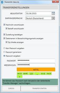 Betreff verschlüsseln mit Cryptshare for Outlook