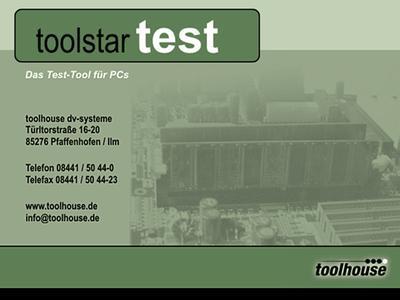 Die zuverlässige Diagnose mit toolstar*testOS schafft Sicherheit und erlaubt eine zielgerichtete Reparatur mit minimalem Zeit- und Kostenaufwand