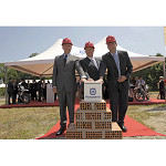 Foundation-laying ceremony for the new Husqvarna Motorcycles Headquarter