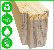 LVL - ein Material mit idealen Eigenschaften für den Containertransport belastbar, wasserfest, temperaturbeständig, trocken, nachhaltig und wiederverwendbar