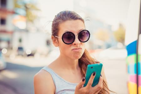 Spam - nein Danke. Die Ö-App warnt vor Spamanrufen