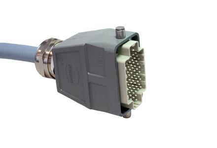 """Der """"Triple D"""" kann mit maximal 107 Kontakten Signale oder Leistung übertragen"""